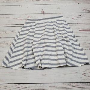 NWT Matilda Jane Striped Skirt Size L